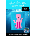 Additional Images for Deep Dive Quilt - #1 OCTOPUS BLOCK