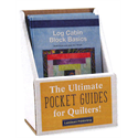 Additional Images for Log Cabin Block Basics Display with 6 Books