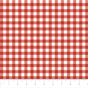 "Additional Images for Gingham - CRIMSON - 44"" x 13.7 M"