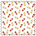 """Additional Images for Ketchup and Mustard - WHITE - 44"""" x 13.7 M"""