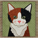 Additional Images for Calico Cat Precut Fused Applique Kit