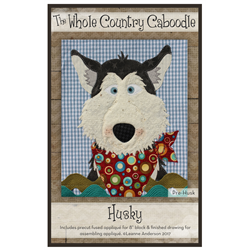 Husky Precut Fused Appliqué Kit