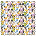"Additional Images for Mickey Mouse Here Comes the Fun - WHITE - 44"" x 13.7 M"