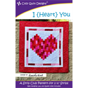 Additional Images for I {Heart} You  Pattern