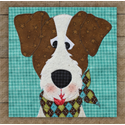 Additional Images for Jack Russell Terrier Precut Fused Appliqué Kit