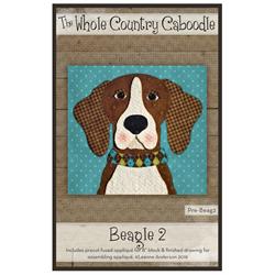 Beagle 2 Precut Fused Appliqué Kit
