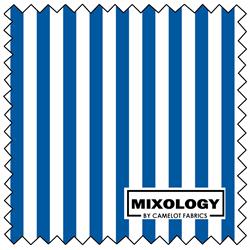 """Stripes - ROYAL - 44"""" x 13.7 M"""
