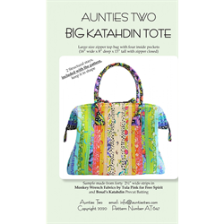 BIG Katahdin Tote Pattern With Stays