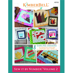 Sew By Number - Volume 2 Book