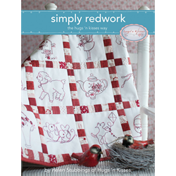 Simply Redwork Embroidery the Hug 'n Kisses Way