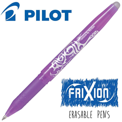 Frixion Pen Fine Point (.7 mm) Heat Erase - LIGHT PURPLE