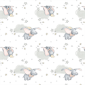 "Additional Images for Dumbo Sentimental - GREY - 44"" x 13.7 M"