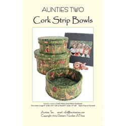 Cork Strip Bowls Pattern