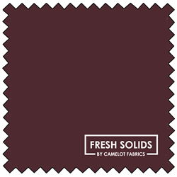 """Fresh Solids - BORDEAUX - 44"""" x 13.7 M"""