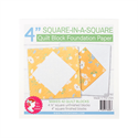 """Additional Images for Square in a Square Quilt Block Foundation Paper - 4"""""""