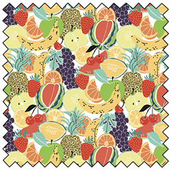 "Fruit Salad - MULTI - 44"" x 13.7 M"