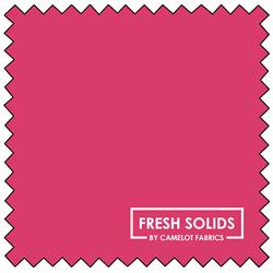 "Fresh Solids - BRIGHT PINK - 44"" x 13.7 M"