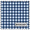 "Additional Images for Gingham - INDIGO - 44"" x 13.7 M"