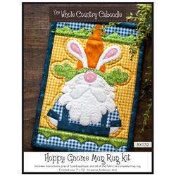 Hoppy Gnome Mug Rug Kit
