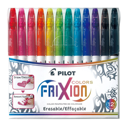 Frixion Colors Erasable Marker - 12 Pack