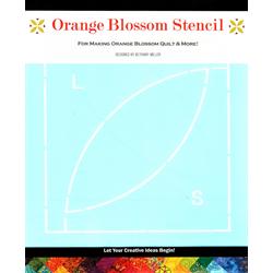 Orange Blossom Stencil