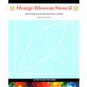 Additional Images for Orange Blossom Stencil