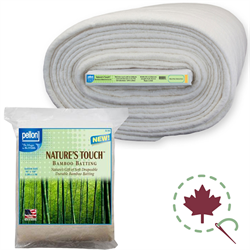 """Nature's Touch Bamboo Blend Batting - 96"""" x 9 YDS"""