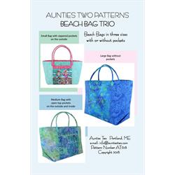 Beach Bag Trio Pattern