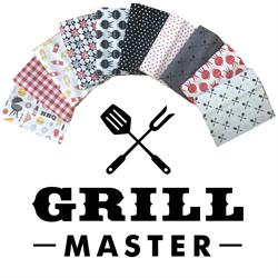 Grill Master Fat Quarter Pack
