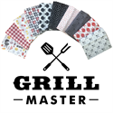 Additional Images for Grill Master Fat Quarter Pack