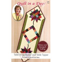Table Scrap Runner & Table Topper Pattern