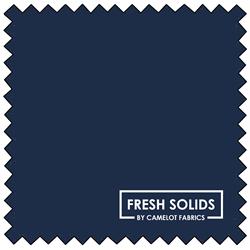 """Fresh Solids - NAVY - 44"""" x 13.7 M"""