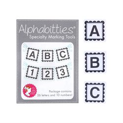 Gray Alphabitties Specialty Marking Tools