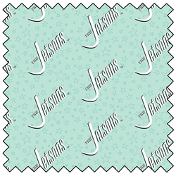 "Jetsons Logo - LIGHT BLUE - 44"" x 13.7 M"