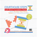 """Additional Images for Courthouse Steps Quilt Block Foundation Paper - 12"""""""