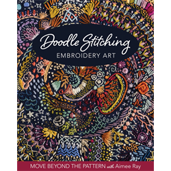 Doodle Stitching Embroidery Art+