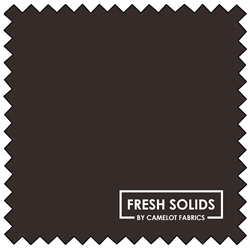 "Fresh Solids - CHOCOLATE - 44"" x 13.7 M"