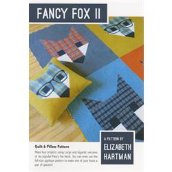Fancy Fox II Pattern - JANUARY 2018