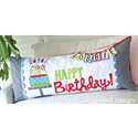 Additional Images for Happy Birthday! - Bench Pillow Machine Embroidery CD