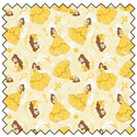 """Additional Images for Belle - YELLOW - 44"""" x 13.7 M"""