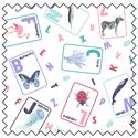Additional Images for Love Your World Alphabet - Fat Quarter Bundle (4)