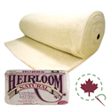 "Additional Images for Heirloom Natural Cotton with Scrim - 96"" x 15 YDS"