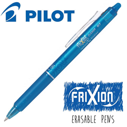 Frixion Clicker (.7) Heat Erase Pen - TEAL