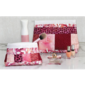 Additional Images for Zippity-Do-Done Cosmetic Bag - WHITE ZIPPER