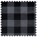 "Additional Images for Lumberjack Flannel - GREY/BLACK - 60"" x 15 M"