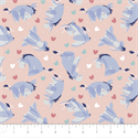 "Additional Images for Eeyore Heart Toss - WHITE - 44"" x 13.7 M"