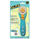 Additional Images for OLFA Splash 45mm Rotary Cutter Aqua (RTY-2C)