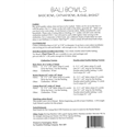 Additional Images for Bali Bowls Pattern - Revisited