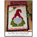 Additional Images for Snowflake Gnome Mug Rug Kit