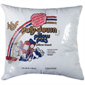 "Polydown Pillow Inserts - 20"" Polished Cotton"
